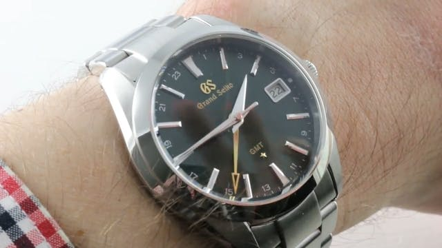 Grand Seiko GMT Sport Collection (+ 5...