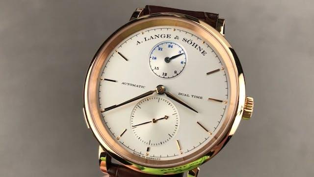 A. Lange & Sohne Saxonia Dual Time 38...
