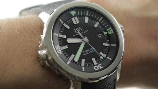 IWC Aquatimer Automatic 3290-01