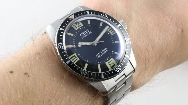 Oris Divers Sixty Five Topper Limited Edition (01 733 7707 4034 Set) Review