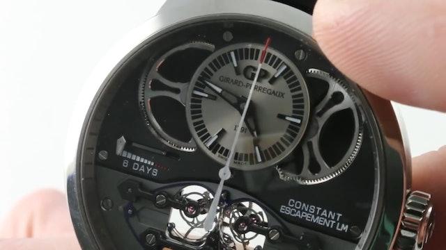 GPHG 2013: Girard Perregaux Constant Escapement L.M. (93505 21 631 Ba6E) Review