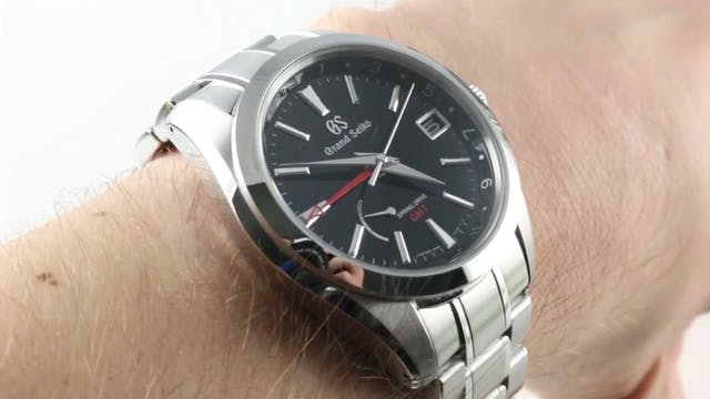 Grand Seiko Spring Drive GMT SBGE211 ...