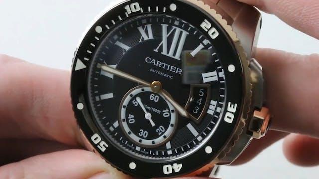 Cartier Calibre De Cartier Diver (W71...