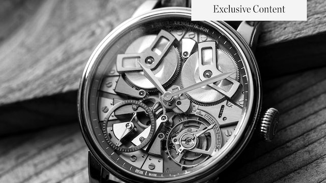 Rolex Burnout? Arnold & Son Watches Brand Profile And Watch Collector Guide