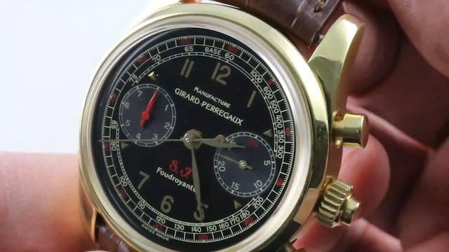 Girard Perregaux Scuderia Ferrari Foudroyante Chronograph (9020) Review