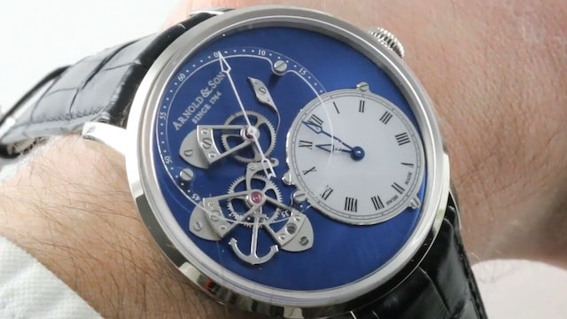 Arnold & Son Dstb True Beat (1Ataw.L04A.C121W) Review