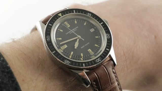 Vintage Girard Perregaux Deep Diver (8867W) Review