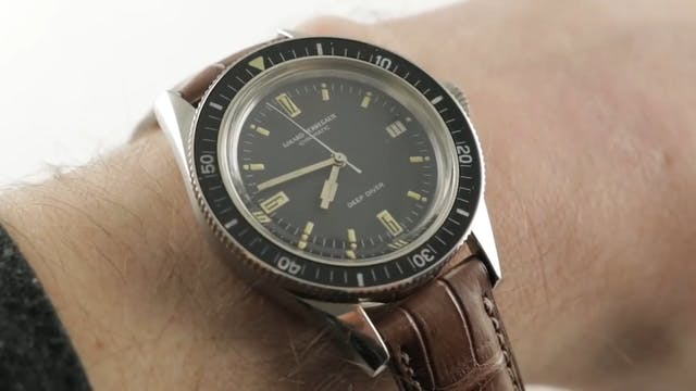 Vintage Girard Perregaux Deep Diver (...