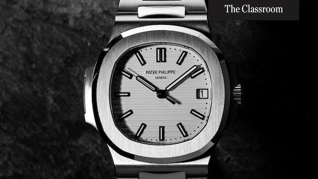 How Do Watches Gain Value?