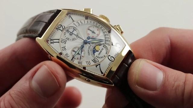 Franck Muller Perpetual Calendar Bi Retrograde Ref. 6850 CC QPB Watch Review