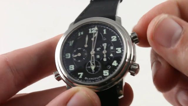 How To Use: Blancpain Leman Reveil GM...
