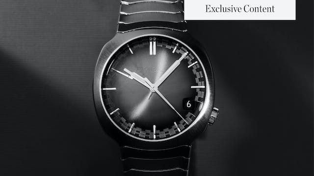 Exclusive First Look: H. Moser & Cie....