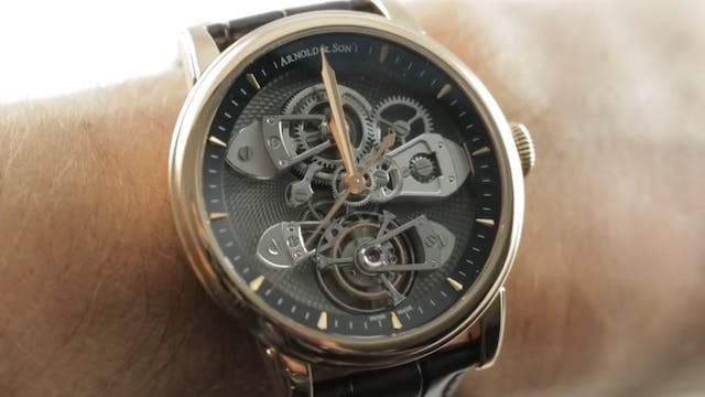 Arnold & Son Tbte Tourbillon True Bea...