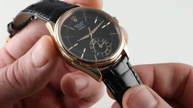 Rolex Cellini Dual Time 50525 Review