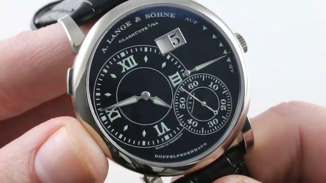 A. Lange & Sohne Grande Lange 1 Lumin...