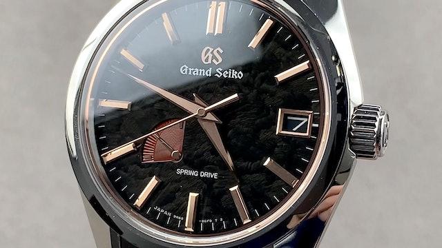 Grand Seiko Heritage Collection Spring Drive Ginza Limited Edition SBGA425
