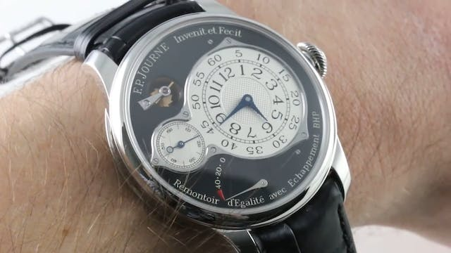 F.P. Journe Chronometre Optimum Black...