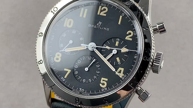 Breitling AVI REF.765 1953 Re-Edition...