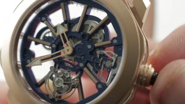 Bulgari Octo Roma Tourbillon Sapphire (103157) Bulgari Watch Review