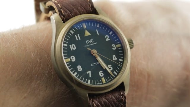 """IWC Pilots Watch For """"The Rake"""" And """"..."""