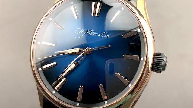 H. Moser & Cie Pioneer Centre Seconds...