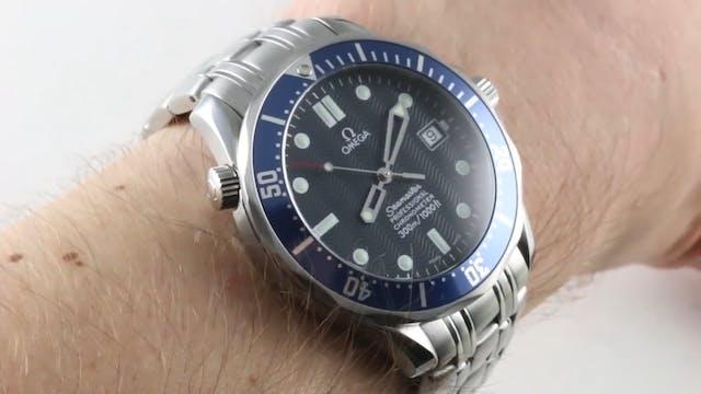 Omega Seamaster Diver 300M James Bond...
