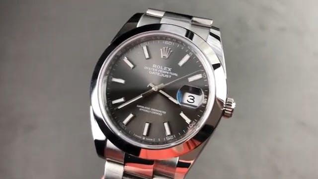 Rolex Datejust 41mm Dark Rhodium 1263...