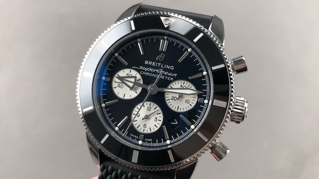 Breitling Superocean Heritage B01 Chronograph AB0162121B1S1 Review