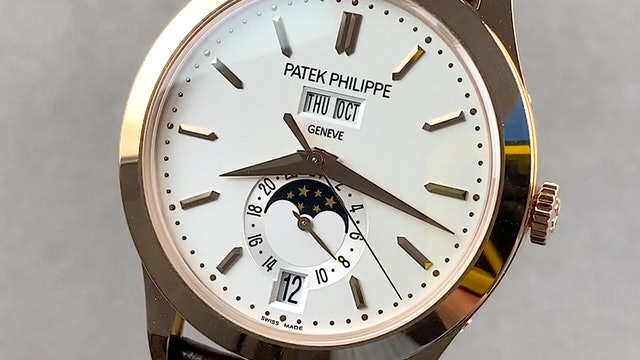 Patek Philippe Complications Annual Calendar Moon Phases 5396R-011