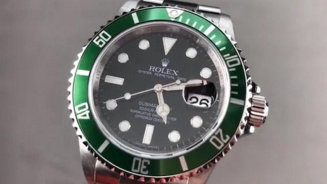 "Rolex Submariner Date ""Kermit"" 16610LV Review"