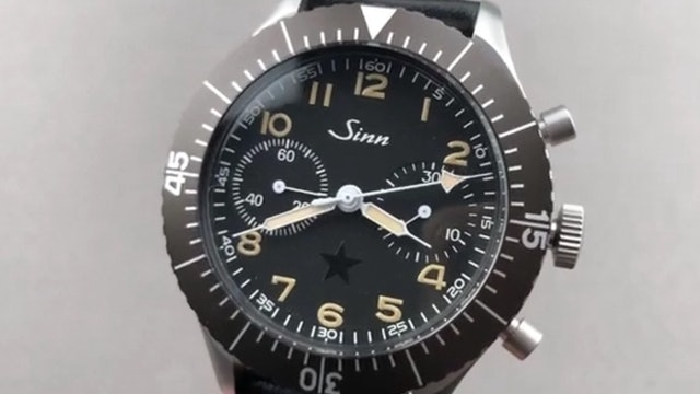 "Sinn 155 Bundeswehr ""Dark Star"" X The Rake & Revolution 155.031 Review"