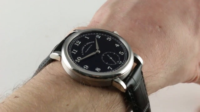 A. Lange & Sohne 1815 200th Anniversary Limited Edition 236.049 Review