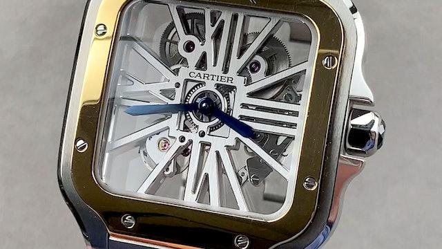 Cartier Santos de Cartier Large Model WHSA0012