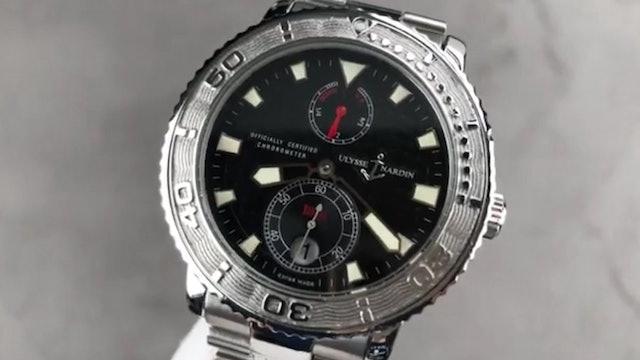 Ulysse Nardin Marine Diver (Dive Watch) 263 55 3 92 Ulysse Nardin Watch Review