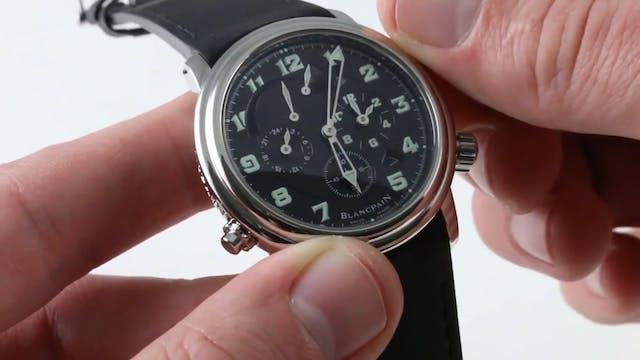 Blancpain Leman Reveil GMT 2041 1130M...