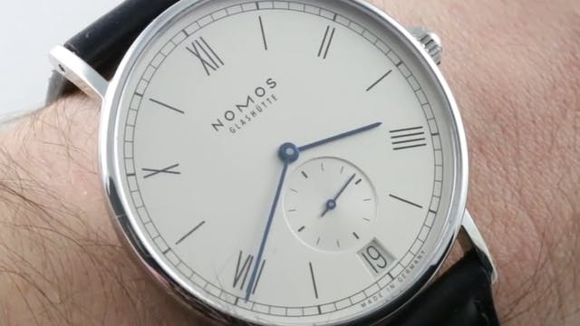 Nomos Glashutte Ludwig Date (Referenc...