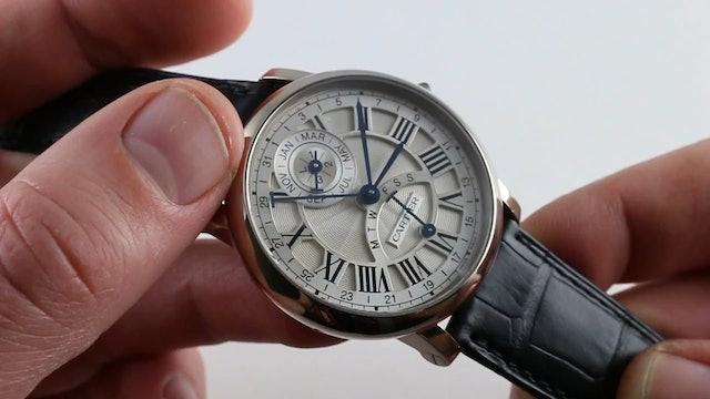 Cartier Rontonde Perpetual Calendar W1556218 Review