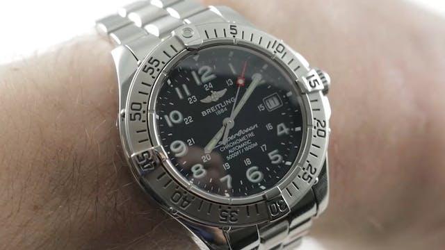 Breitling Superocean Chronometer Dive...