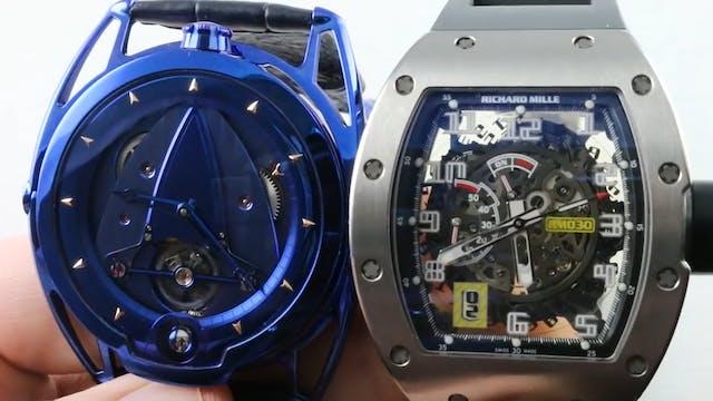 De Bethune Kind Of Blue DB28BZBN vs. ...