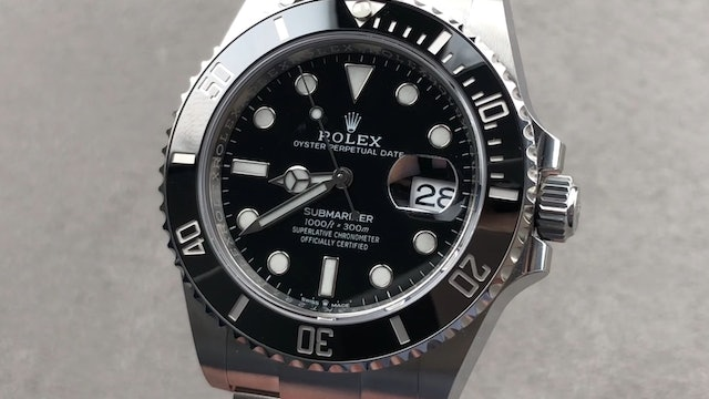 2020 Rolex Submariner Date 41mm 126610LN Review
