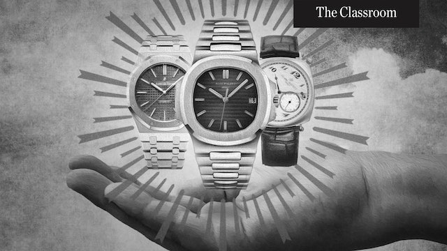 The Holy Trinity of Watches
