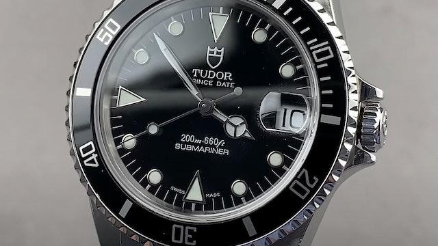 Tudor Prince Date Submariner 75190