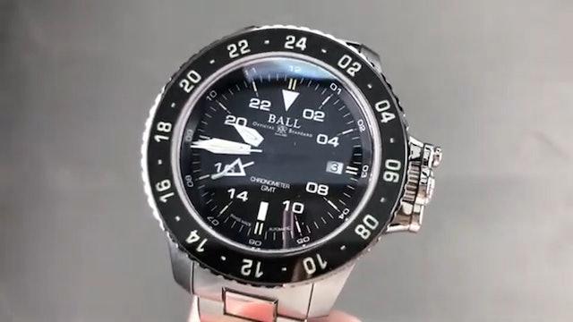 Ball Engineer Hydrocarbon Aero GMT II DG2016A SC BK Ball Watch Review