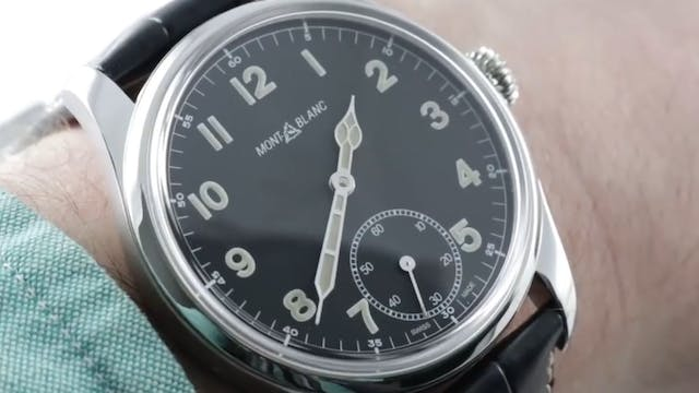 Montblanc 1858 Manual Small Seconds L...