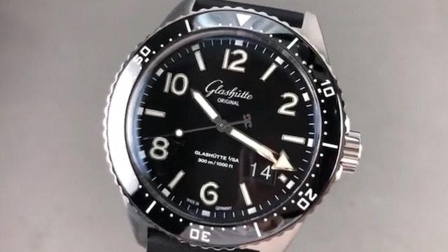 Glashutte Original Seaq Panorama Date Dive Watch 1 36 13 01 80 06 Review