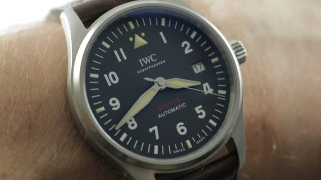 2019 IWC Pilots Watch Spitfire Manufa...