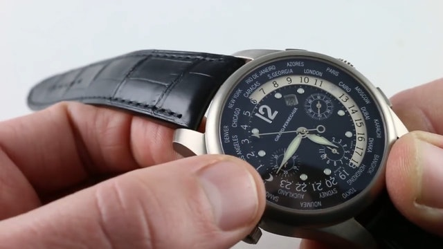 Girard Perregaux World Time Ww.Tc Financial Chronograph 49805 Review