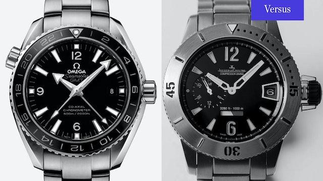 Omega Seamaster Planet Ocean vs. Jaeger-LeCoultre Diving GMT (Q187T770)
