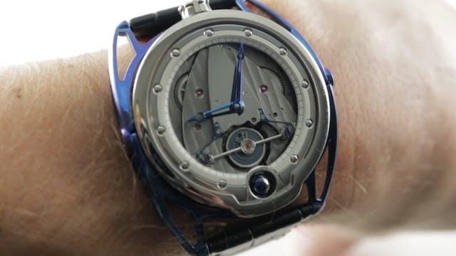 De Bethune DB28 Blue Titanium (DB28TI...