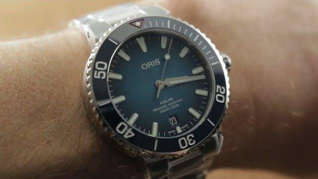 Oris Aquis Clean Ocean Limited Editio...